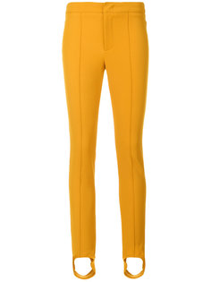 брюки со штрипками Moncler Grenoble