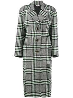 однобортное твидовое пальто Natasha Zinko