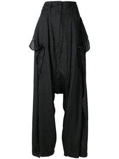 расклешенные брюки с завышенной талией Barbara I Gongini
