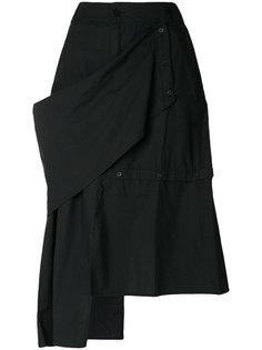 асимметрчиная юбка миди Barbara I Gongini