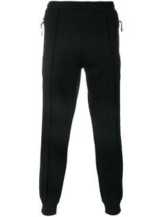 спортивные брюки с панельным дизайном Emporio Armani