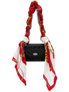 жаккардовая сумка на плечо Balenciaga