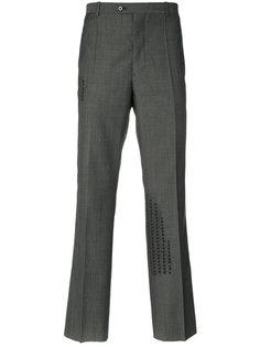 прямые брюки с принтом Maison Margiela