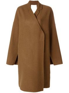 структурированное пальто строгого кроя Ports 1961