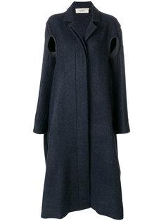 пальто строгого кроя на пуговицах Ports 1961