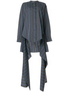 полосатая рубашка с асимметричным подолом Ports 1961