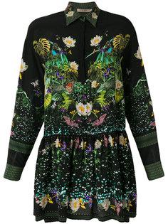 платье-рубашка с принтом Piccione.Piccione