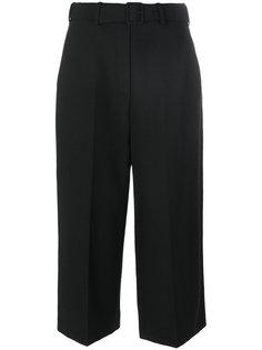 укороченные брюки с поясом  Neil Barrett