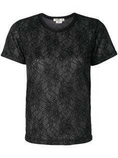 кружевная футболка Comme Des Garçons