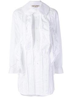 длинная рубашка с оборкой  Comme Des Garçons