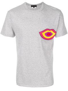 футболка с принтом губ Comme Des Garçons Homme Plus