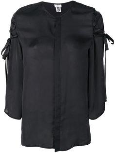 блузка со шнуровкой  Comme Des Garçons Noir Kei Ninomiya