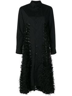 расклешенное платье-рубашка  Comme Des Garçons Noir Kei Ninomiya