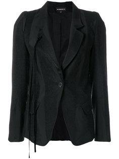 пиджак в полоску с кисточками Ann Demeulemeester