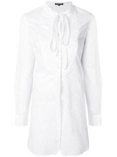 длинная рубашка с бантом Ann Demeulemeester