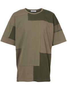 лоскутная футболка Maharishi