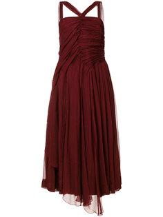 платье с отделкой  Nº21