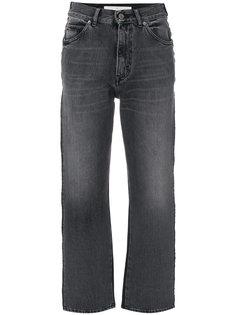 укороченные джинсы с контрастными карманами Golden Goose Deluxe Brand