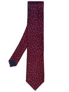 галстук с геометрическим принтом Lanvin
