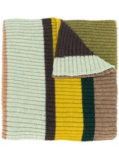 кашемировый полосатый шарф Faliero Sarti