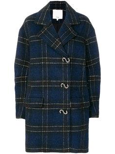 клетчатое пальто Tibi