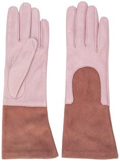 перчатки с контрастными манжетами Gala