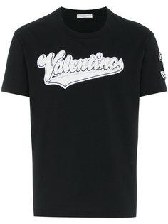 футболка с принтом логотипа Valentino