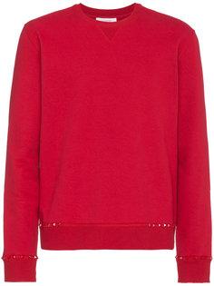 свитер с круглым вырезом Rockstud Valentino