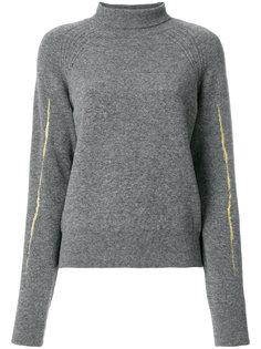приталенный свитер с отворотом  Haider Ackermann