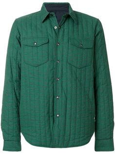 клетчатая куртка рубашечного кроя с обивкой Aspesi