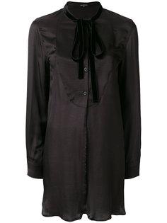 длинная блузка с бантом Ann Demeulemeester