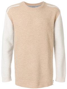 двухцветный свитер с круглым вырезом Ck Jeans