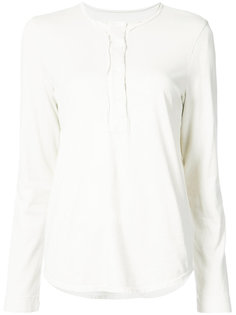блузка с вырезом-хенли Bowie Raquel Allegra