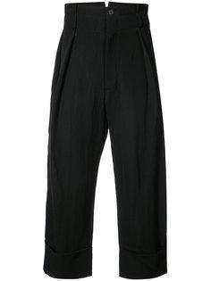 укороченные брюки mustang  Ann Demeulemeester