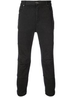 укороченные брюки с панельным дизайном The Viridi-Anne