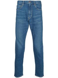 укороченные зауженные джинсы Hysteric Glamour