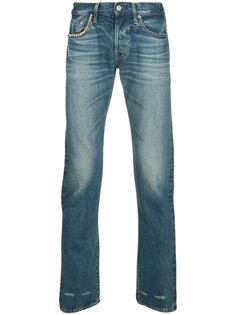 джинсы прямого кроя с заклепками Hysteric Glamour