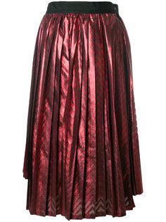 асимметричная плиссированная юбка  Comme Des Garçons Noir Kei Ninomiya