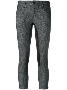 укороченные брюки с панельным дизайном Junya Watanabe Comme Des Garçons