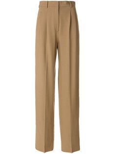 брюки с высокой талией Theory
