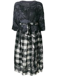декорированное платье-миди Daniela Gregis