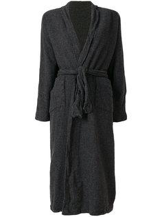 приталенный кардиган-пальто Daniela Gregis