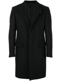 пальто с потайной застежкой Fendi