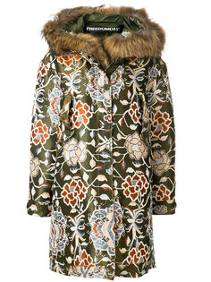 жаккардовое пальто Maiori Freedomday