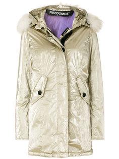пальто New Chamois с люрексом Freedomday