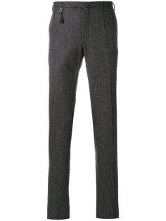 фактурные прямые брюки Incotex