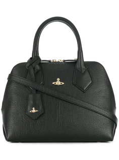 декорированная сумка-тоут с логотипом Vivienne Westwood