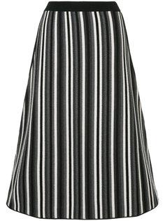 трикотажная юбка в полоску Antonio Marras