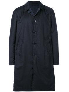 двухстороннее однобортное пальто  Lardini