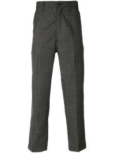 плиссированные брюки прямого кроя  Junya Watanabe Comme Des Garçons Man